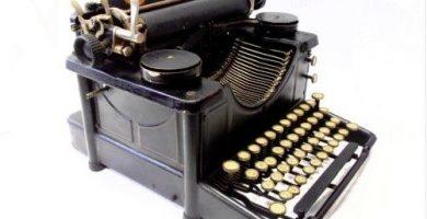 maquinas de escribir antiguas o retro