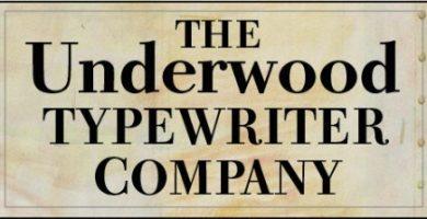 maquinas de escribir underwood