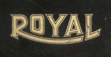 maquinas de escribir antiguas ROYAL